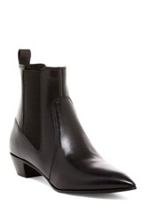 Marc By Marc Jacobs Lou Pointed Toe Chelsea Boot Black