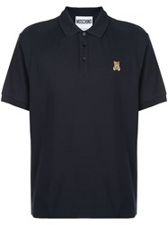 Moschino Logo Patch Polo Shirt 60