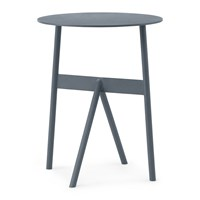Normann Copenhagen Tivoli Stock Side Table Steel Blue