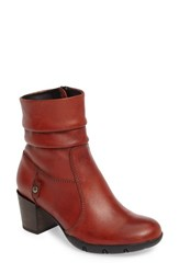 Wolky Women's Colville Boot Terracotta Leather
