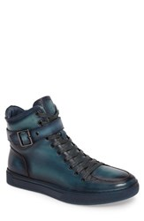 Jump Men's Sullivan High Top Sneaker Turquoise