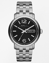 Marc By Marc Jacobs Fergus Stainless Steel Strap Watch Mbm5075 Silver