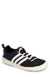 Men's Adidas 'Climacool Boat Lace' Water Shoe Navy Chalk White Black