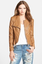 Blank Nyc Women's Blanknyc Faux Leather Jacket Brown