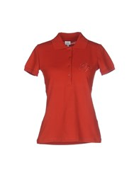 Gianfranco Ferre Gf Ferre' Topwear Polo Shirts Women Rust