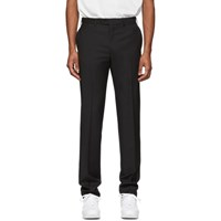 Brioni Black Megeve Slim Trousers