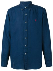 Ralph Lauren Polo Pony Shirt Blue