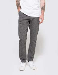 Wings Horns Linen Utility Pant Charcoal