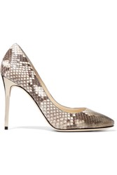 Jimmy Choo Esme Degrade Python Pumps Snake Print