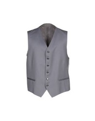 Tiziano Reali Vests Grey