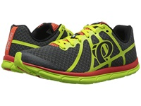 Pearl Izumi Em Road N 1 V2 Shadow Grey Lime Punch Men's Running Shoes Gray