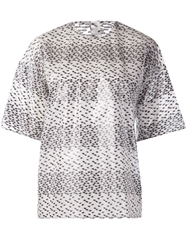Damir Doma Dotted Top White
