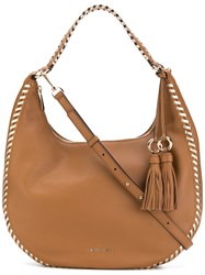 Michael Michael Kors 'Lauryn' Hobo Bag Women Leather One Size Brown