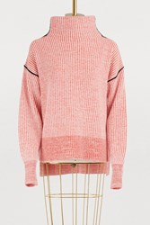 Sportmax Lipari Cashmere Sweater Red White