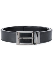 Bally Buckled Textured Belt 60