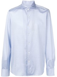 Canali Slim Fit Shirt Blue