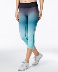 Ideology Cropped Ombre Leggings Only At Macy's Crystal Mist