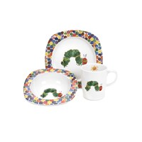 The Very Hungry Caterpillar Caterpillar Plate Mug And Bowl Set