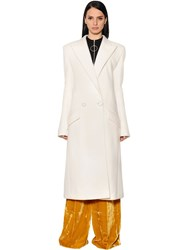 Thierry Mugler Double Wool Cloth Coat