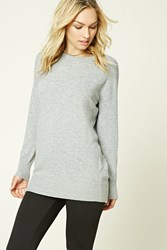 Forever 21 Contemporary Marled Knit Tunic