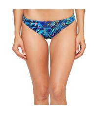 Tyr Machu Bikini Bottom Blue Multi Women's Swimwear