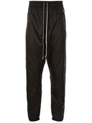 Rick Owens Drop Crouch Trousers Black