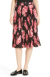 Kate Spade Women's New York Rosa Pleated Midi Skirt