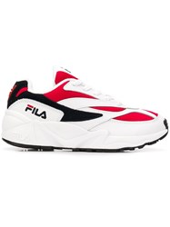 Fila 1010291 150 Furs And Skins Leather Red
