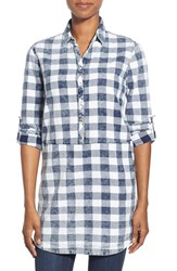 Women's Rd Style Plaid Cotton Tunic