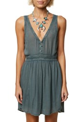 O'neill Woodland Tank Dress Balsam Green