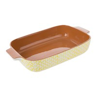 A By Amara Sugarbush Oven To Table Dish Yellow
