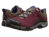 Oboz Sapphire Low Bdry Merlot Shoes Red