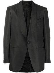 Tom Ford Single Breasted Blazer Black