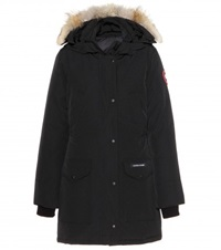 Canada Goose Trillium Down Jacket With Fur Trimmed Hood Black