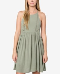 O'neill Juniors' Marla Fit And Flare Dress A Macy's Exclusive Sage