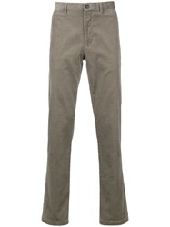 Kent And Curwen Corduroy Trousers Brown