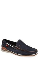 Men's Fluchos 'Neo Nobuck' Loafer Navy Blue
