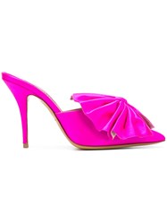 Alexandre Vauthier Kate Mules Pink And Purple