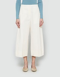 Christophe Lemaire Large Pants Crop In Cream