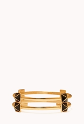 Forever 21 Pyramid Stud Bangle Set