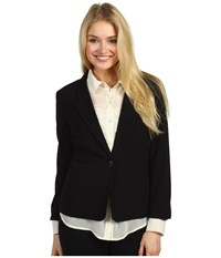 Kensie Ks2k2s51 Blazer Black Women's Jacket