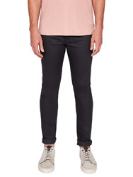 Ted Baker T For Tall Printt Tapered Jeans Grey