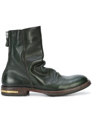 Moma Ankle Boots Leather 38.5 Green