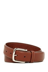 Cole Haan Full Grain Leather Vegan Belt Brown