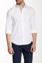 Lorenzo Uomo Stretch Modern Fit Shirt White