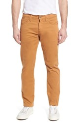 Mavi Jeans Zach Straight Fit Twill Pants Almond Twill