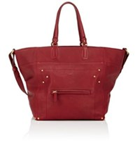 Jerome Dreyfuss Women's Jacques Small Tote Bag Red