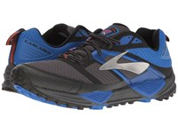 Brooks Cascadia 12 Anthracite Electric Blue Black Men's Running Shoes