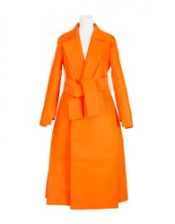 Maison Rabih Kayrouz Coat Orange