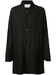 Private Stock Single Breasted Coat Black
